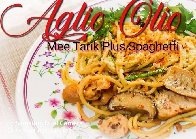 Aglio Olio Mee Tarik Spaghetti