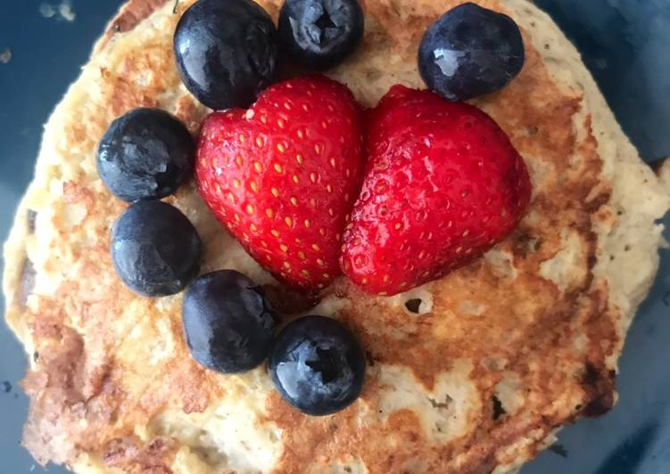Recipe: Appetizing 2-Ingredient Banana Pancakes