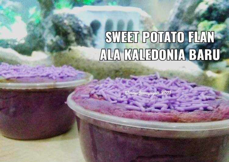 Sweet Potato Flan (Puding Ubi Jalar) ala Kaledonia Baru