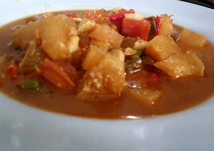 Kikil sapi saus tiram - cookandrecipe.com