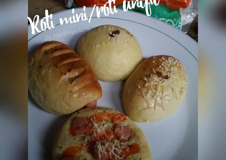 Roti unyil/roti mini ala mimih (dgn otang)