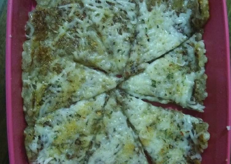 Sago(sabudana) cheese chilli thalipeeth