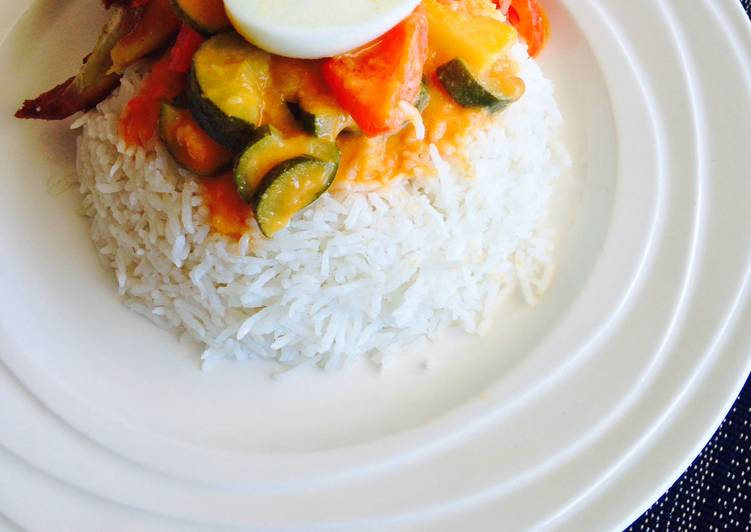Recipe of Super Quick Homemade Pandan Coconut Rice