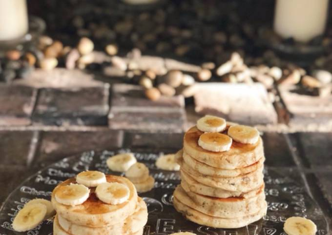 Mashed Banana Pancake