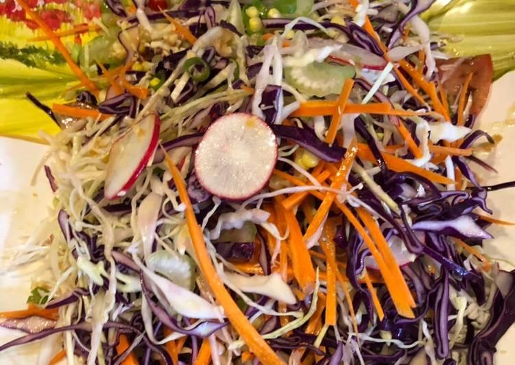 Salade d'été style Japonai