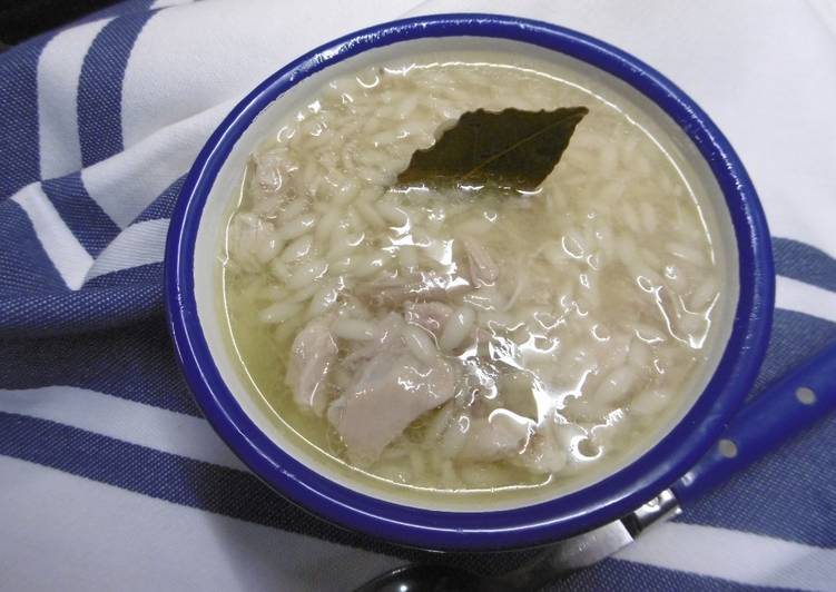A taste of traditional Chicken Soup with Rice