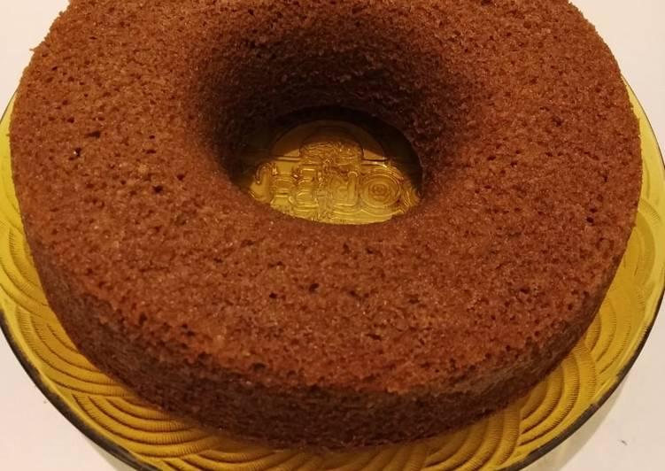 resep membuat Bolu Karamel Gula Merah - Sajian Dapur Bunda