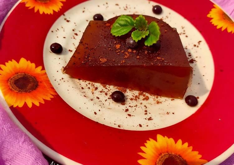 Chocolate Soft Pudding 🥧🍫