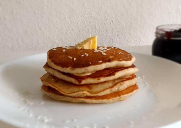 Recipe of Award-winning Banana pancake (no milk/ no egg) with sourdough starter discard