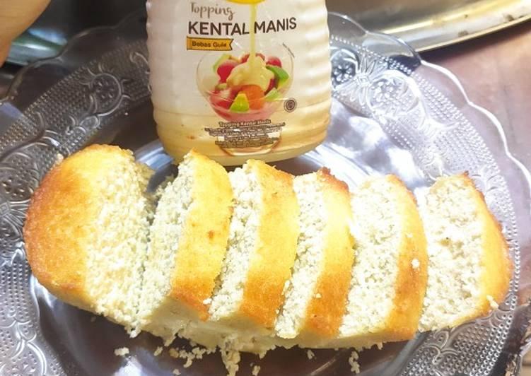 Cara mudah membuat Keto bread airfryer