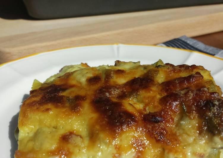 Recipe: Yummy Lasagne al forno con asparagi e besciamella