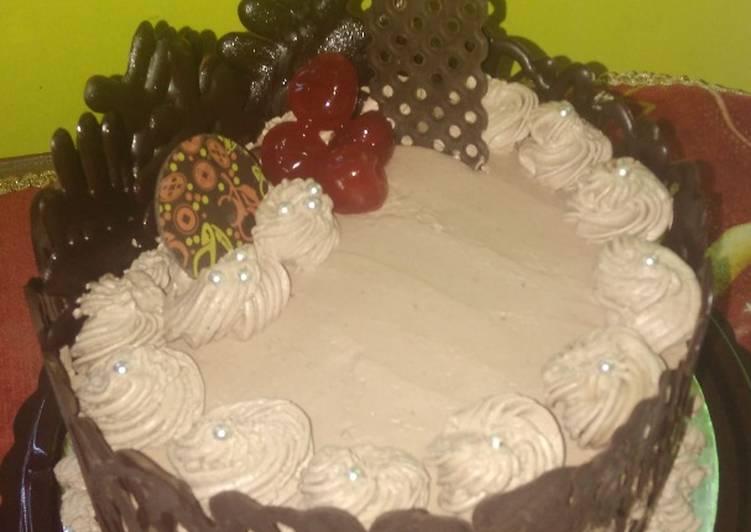 Brownis cake Ultah - cookandrecipe.com