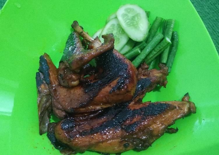 Cara Menghidangkan Ayam bakar kecap dan jintan (teflon) Untuk Pemula!