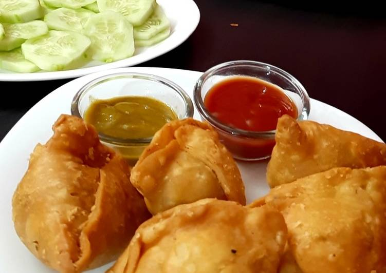 Simple Way to Make Award-winning Potato samosa