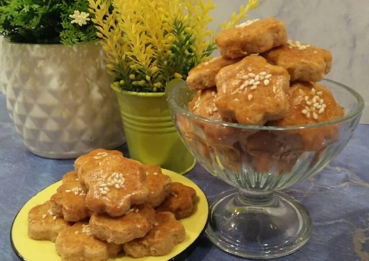 Resep Kue Kering Selai Kacang, Enak