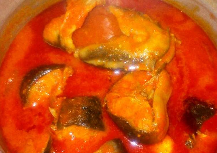 Step-by-Step Guide to Prepare Any-night-of-the-week Fresh Catfish soup..good with ewedu plus swallow or white rice