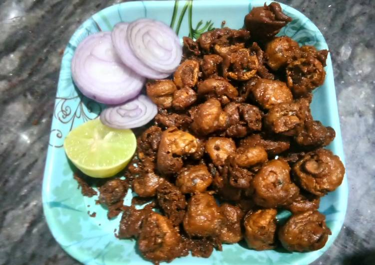 10 Minute Step-by-Step Guide to Make Cooking Mushroom kabab