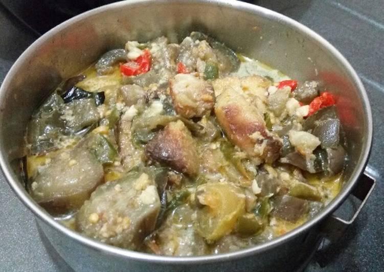 Mangut Ikan asap Tahu Terong Lombok/ Cabe Ijo