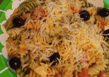 How to Cook Perfect Easy Puerto Rican style chicken pasta salad