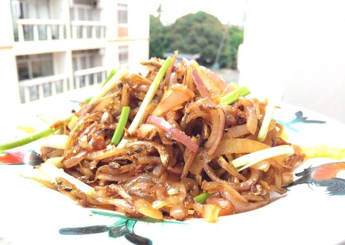 Caramelized Spicy Anchovies / Ikan Bilis