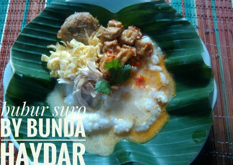Resep Bubur Suro Magic Com Oleh Tutik Bundaananhaydar Cookpad