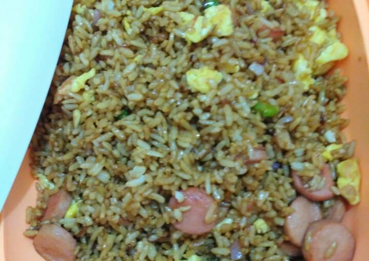 Cara Gampang Menyiapkan Nasi goreng  Anti Gagal