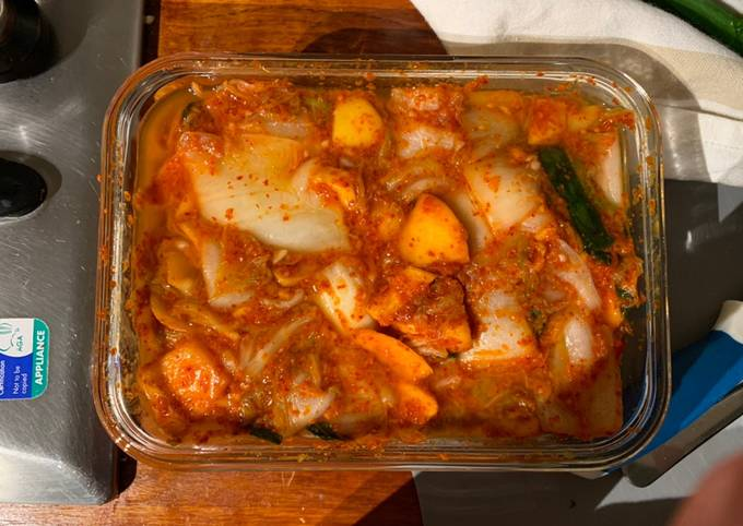 Feasting at Home's kimchi recipe!