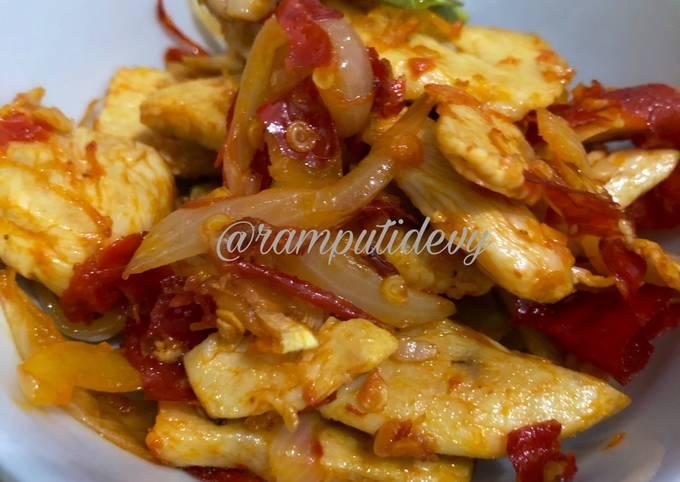 Ayam Cabe Garam For Diet