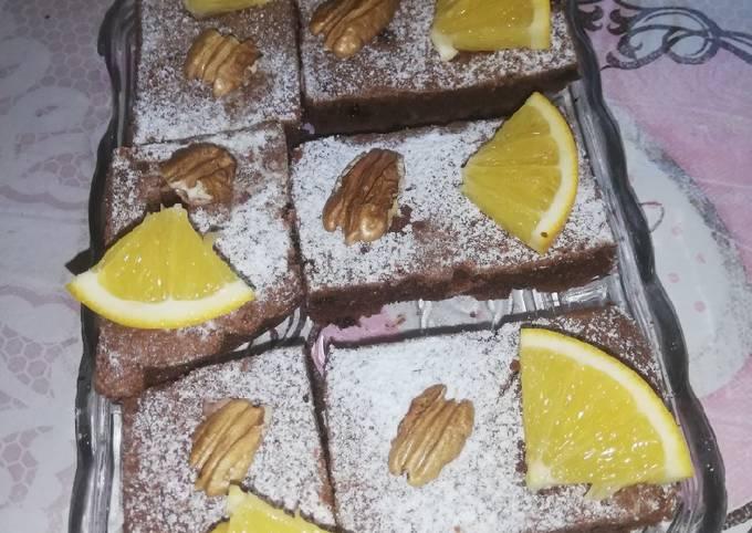 Brownies à l'orange
