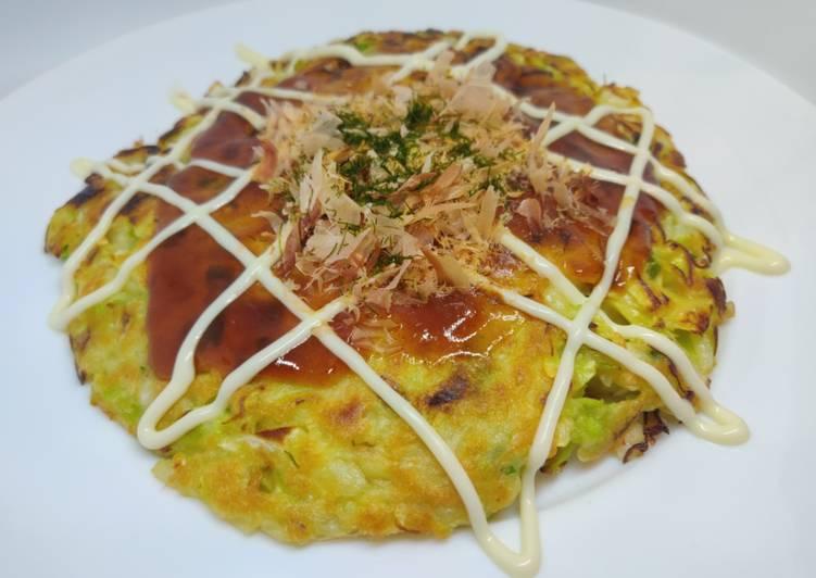 Recipe Japanese Okonomiyaki Delicious