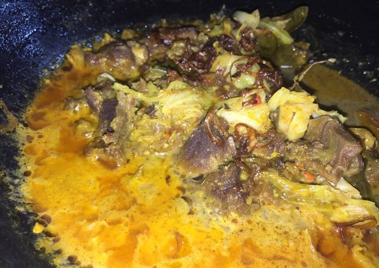 Tongseng kambing - cookandrecipe.com