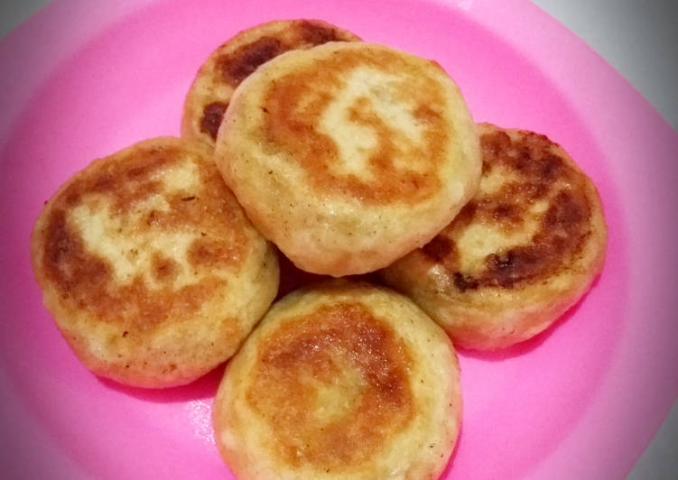 Sui Cien pao / Pao goreng air khas Taiwan