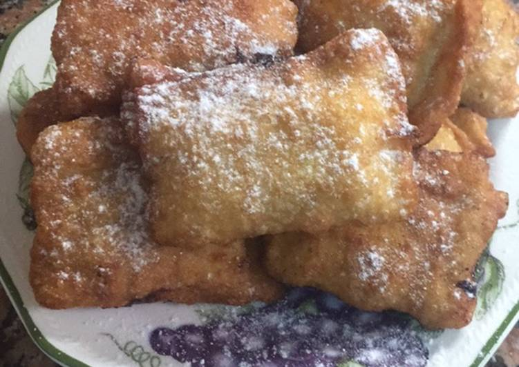 Easiest Way to Prepare Award-winning Apple stuffed beignets