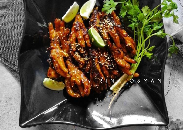 Kaki Ayam Panggang 3 Rasa #MAHN - velavinkabakery.com