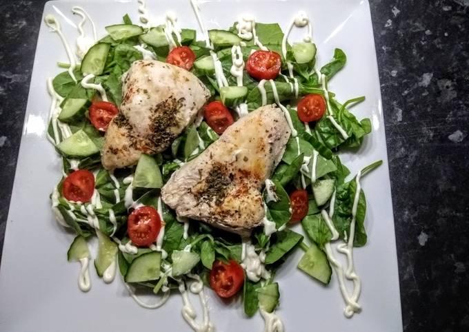 Quick Chicken salad