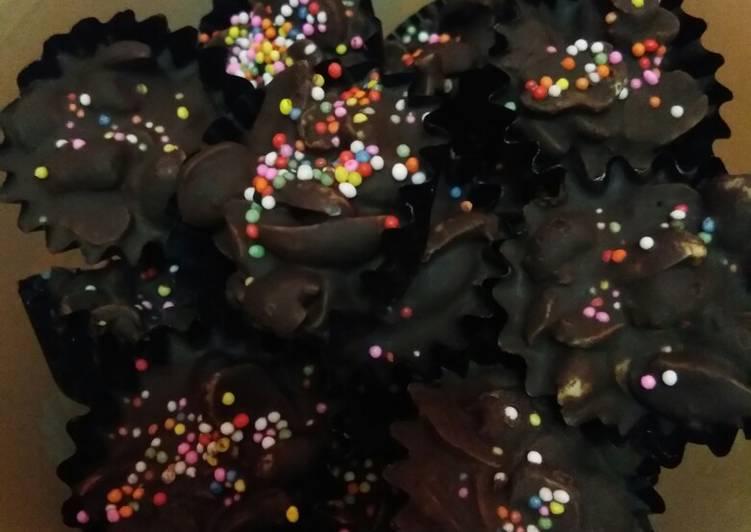 Cokelat kacang simple