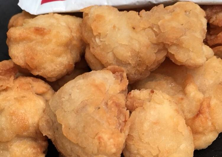 Ayam pop ala ala kfc simpel