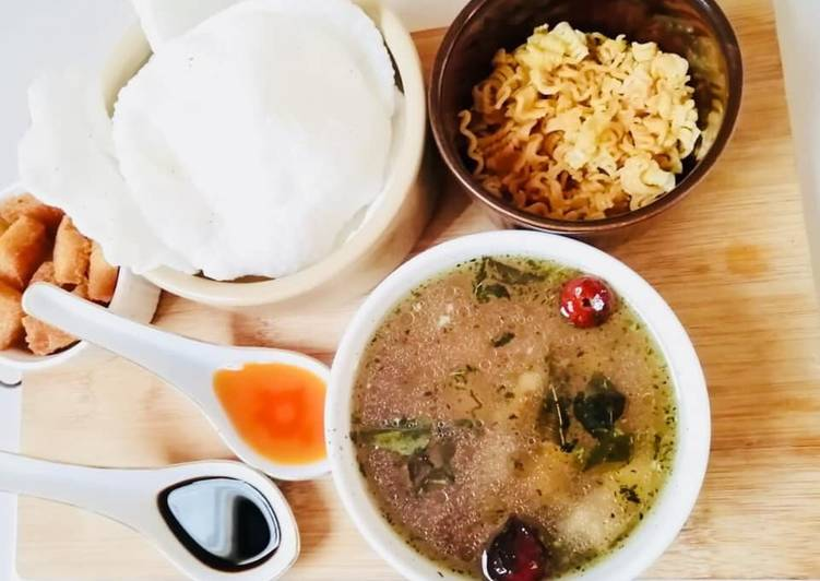 Recipe of Homemade Thai soup