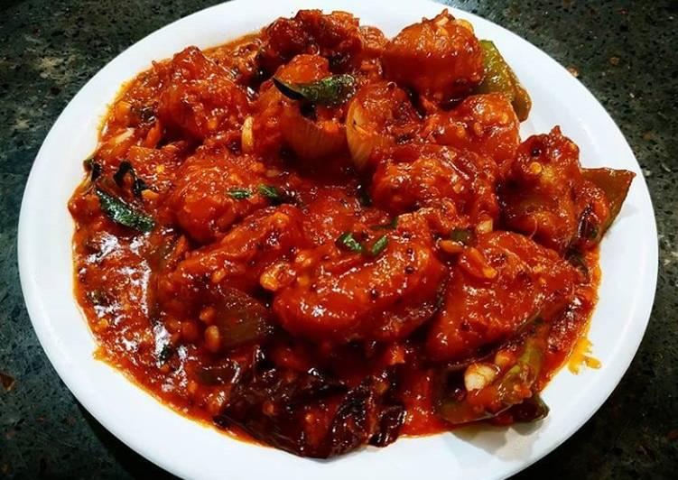 Chicken gravy masala