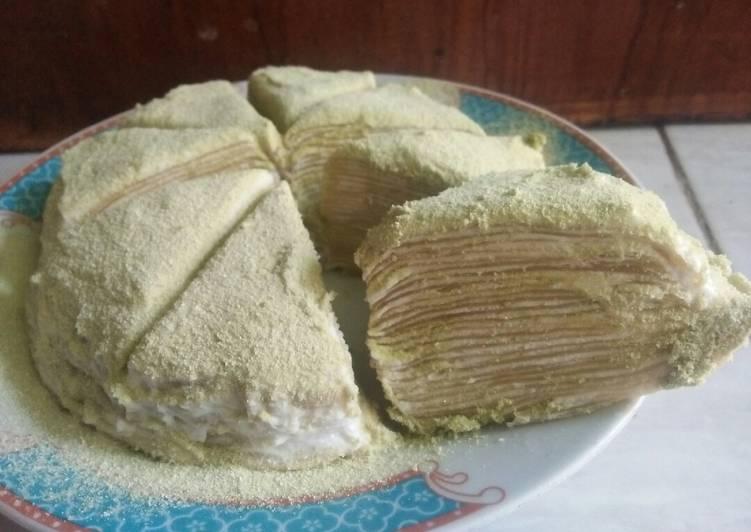 Millecrepes Matcha - cookandrecipe.com