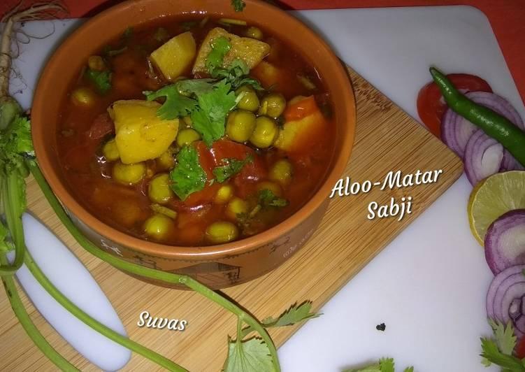 Aloo Matar Sabji