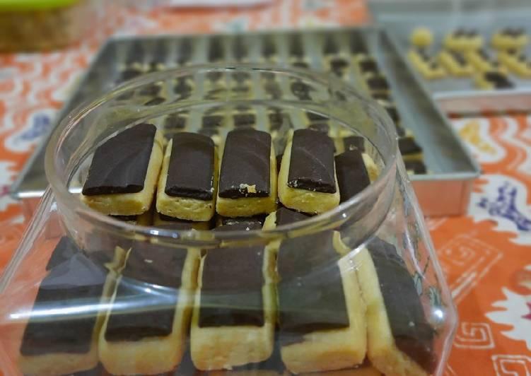 Choco Stick Cookies #PejuangGoldenApron3