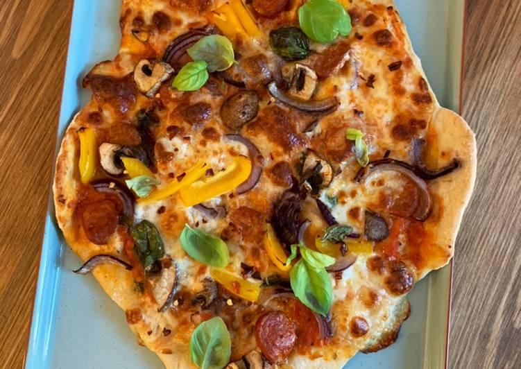 Recipe: Delicious Thin and crispy pizza with homemade tomato passata