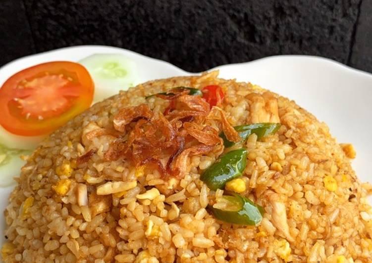Nasi goreng simple ala abang - abang