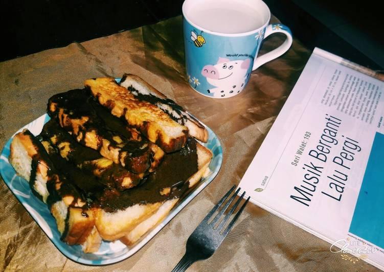 Resep French Stick Toast (Roti Panggang Stik Ala Perancis) Top
