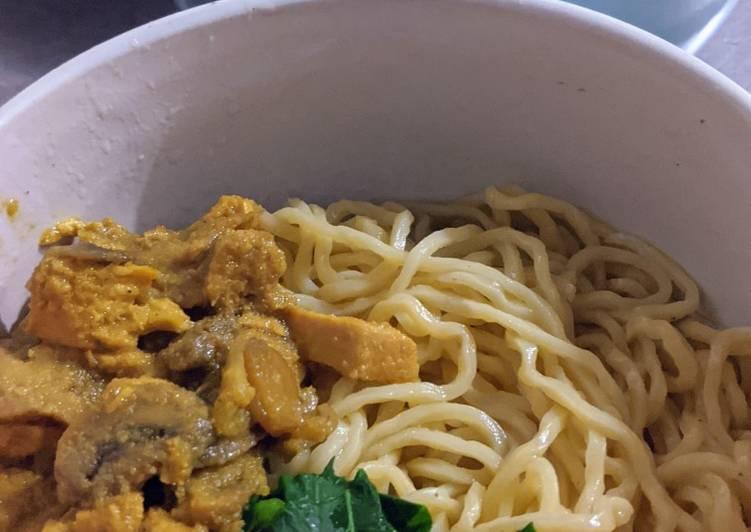 Mie Ayam Jakarta Tanpa Micin