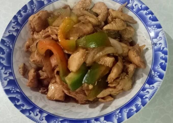Ayam Lada Hitam - menu diet