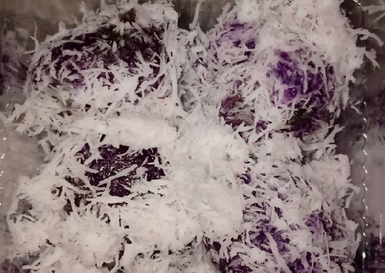 Resep Klepon ubi ungu #5resepbaruku