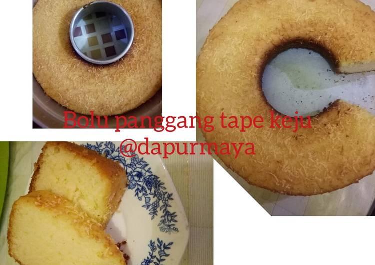 Bolu Panggang Tape Keju