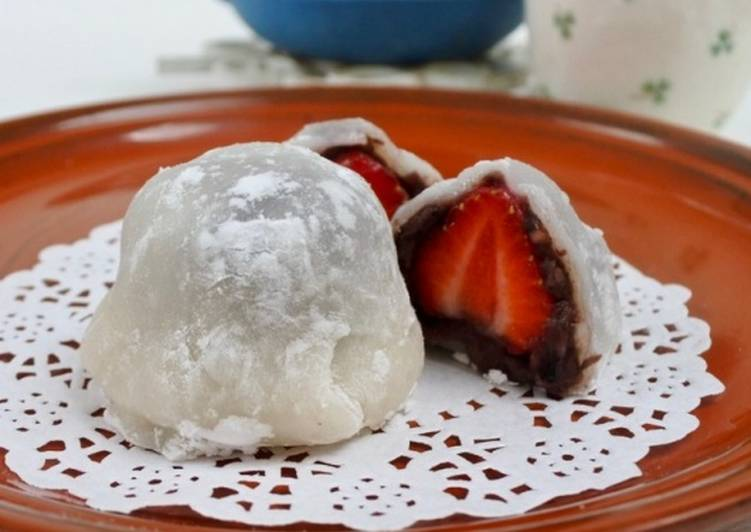 Top 100 Dinner Ideas Vegan Strawberry Daifuku Mochi